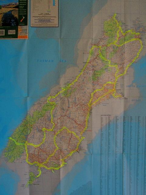 Nzsouthislandmap
